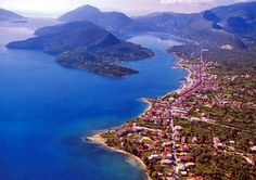 Image detail for -Nidri Port on Lefkas island, introduced by Almi Yachts