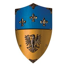 "imagesofshields | Suits of Armour ""Charlemagne"" Wooden Shield"
