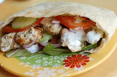 Barefoot and Baking: Chicken Gyros with Greek Chicken
