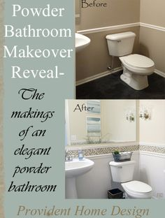 Wahooo, it's time to do some revealing!!! Of my main floor bathroom that is! I started this makeover about 5 weeks ago. It feels like it has been dragging on forever! I find some makeovers and projects come together quickly and others like to unravel painfully slow. This one was the painfully slow kind (which …