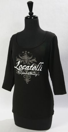 New Ladies 3/4 Sleeve Scoop neck shirt comes in Black, Brown, and Burgundy. Sizes S,M,L,XL. $30.00