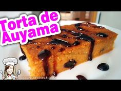 Torta de Auyama, Calabaza o Zapallo tipo Quesillo | La Cocina de Gisele