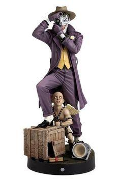 Amazon.com: Kotobukiya DC Comics Batman The Killing Joke Joker ArtFX Statue: Toys & Games