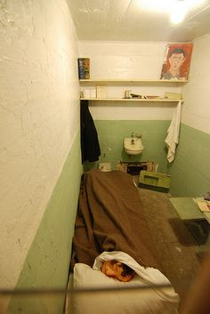 Inside Alcatraz The Hole Alcatraz Prison Cell E...