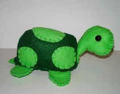 Green Turtle Plushie...would turn into a sea turtle for lil miss