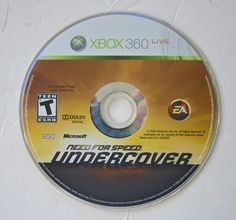 Need for Speed: Undercover (Microsoft Xbox 360, 2008) DISC ONLY