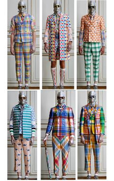PATTERN REPORT | Preppy Overdose - Thom Browne