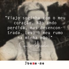 """ Levo o meu rumo na minha mao"" Some Quotes, Words Quotes, Sayings, More Than Words, Some Words, Favorite Quotes, Best Quotes, Positive Mind, Inspirational Quotes"