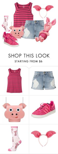 """Piglet"" by seafreak83 ❤ liked on Polyvore featuring Mountain Khakis, Frame, Zatchels, adidas, Dorothy Perkins and Elope"