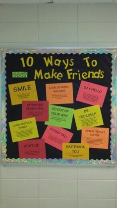 10 ways to make friends