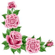 Red Roses Decoration for Frame PNG Clipart | ramki | Pinterest ...