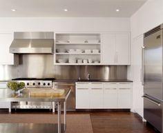 25 best stainless steel backsplash images kitchen backsplash rh pinterest com