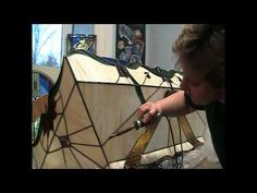 Stained Glass Lamp Repair - Custom Stained Glass
