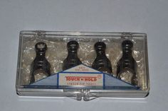 Vintage Touch N Hold Fingertip Tools Finger Tip Wrenches Set of 4