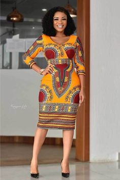 African Dresses: 20 Fashionable African Wear Styles in 2020 Short African Dresses, Latest African Fashion Dresses, African Print Fashion, Modern African Fashion, British Fashion, Ankara Fashion, Africa Fashion, African Prints, African Fabric