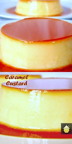 Creme Caramel Custard -See easy to follow instructions on how to make a silky…