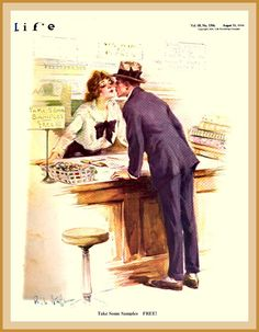 1916 August 31 - Life Cover 'Free Samples' Paul Stahr