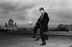 KEISUKE HONDA FOR GQ - photo by Slava Filippov (Soccer/Football player)