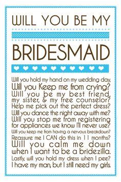 will you calm me down when i start to become a bridezilla?