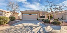 Welcome to this charming 3 bed 2 bath single story home in Ahwatukee in the Crimson Mountain subdivision! Throughout the home you will find vaulted ceilings, tile flooring and a neutral palette. The kitchen is bright and open with white cabinets, stainless steel appliances, shiny granite countertops, and not to mention a kitchen island with a breakfast bar. There is also an eat-in area next to the kitchen and a cozy family room perfect for relaxing and entertaining guests. The master sui...