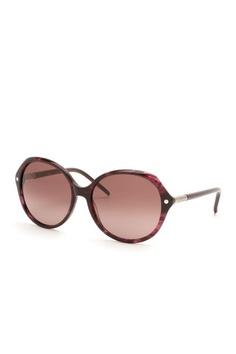 Chloe Sunglasses Women's Plastic Plum Horn Sunglasses
