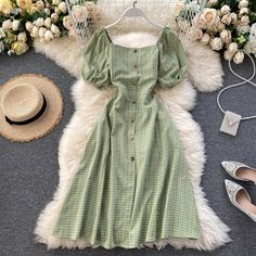 Girls Fashion Clothes, Teen Fashion Outfits, Mode Outfits, Cute Fashion, Fashion Dresses, Girl Outfits, Cute Casual Outfits, Pretty Outfits, Pretty Dresses