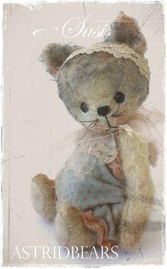 pattern kitten cat Susi epattern 5 inch by by Astridbears on Etsy