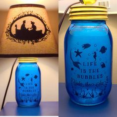 Hey, I found this really awesome Etsy listing at https://www.etsy.com/listing/238454106/little-mermaid-inspired-mason-jar