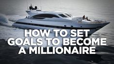 How to Set Goals to Become a Millionaire: Cardone Zone Grant Cardone, Become A Millionaire, Think Big, Setting Goals, How To Become, People, People Illustration, Folk