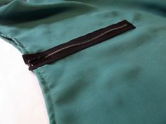 Morning by Morning Productions: Sewing Tip - Fail Proof Exposed Zippers