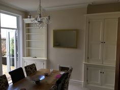 Double alcove cupboard that we installed in a Victorian Villa