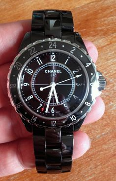 Coin des Affaires - (forte baisse) - Chanel J 12 GMT 42mm céramique - full set