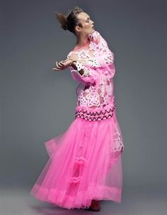 ph Rachell Smith, stylist Sabrina Henry, dress Molly Goddard