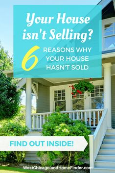 Your house Isn't selling? 6 Reasons Why Your House Hasn't Sold