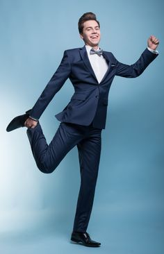 """Stylizacja na studniówkę z garniturem Marco 2 E13/31 P - Kolekcja studniówkowa 2013/2014 """"Endings&Beginnings"""" marki Giacomo Conti - garnitury studniówkowe za 599zł + koszula za 1zł + krawat/mucha za 1zł #giacomoconti"""