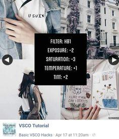 ©VSCO Tutorial