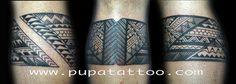 Tatuaje brazalete samoano, Pupa Tattoo, Granada