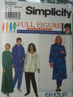 SALE Simplicity 8382 Sewing Pattern   Easy Sewing by WitsEndDesign, $6.00