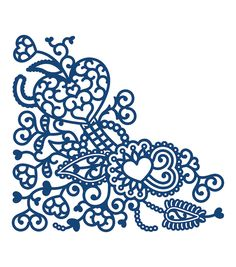 Tattered Lace-Metal Die. One of the leading die cutting companies in the world, Tattered Lace is a brand that delivers unique, intricate and highly detailed dies to use on any paper craft project for
