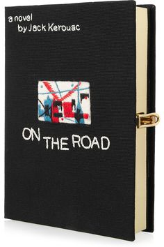 Gina Ketchup loves Olympia Le Tan's clutch version of On The Road by Jack Kerouac