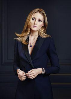Olivia Palermo - black blazer jacket