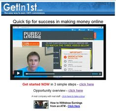 Quick #tip for success in making #money online