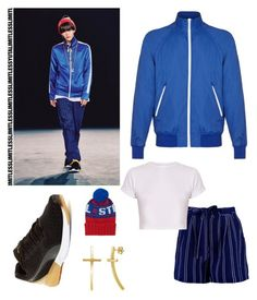 """NCT 127-LIMITLESS """"Yuta"""" *female version"""" by shin-chai on Polyvore featuring polyvore, fashion, style, Mads Nørgaard, Boohoo, Puma, BERRICLE, The Elder Statesman, clothing, kpop, wardrobe, Yuta and nct"""