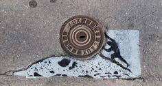 Eye-catchingly amusing street art hits French city | Street art | Creative Bloq