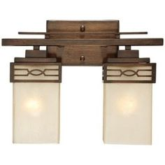 Mission Bathroom Vanity Double Inch Mission Style - Mission style bathroom lighting