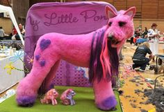 my little pony dog. One of the creepiest things I have ever seen!