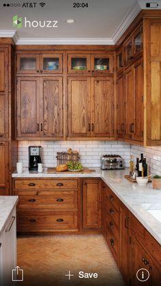 Cabinet color I love!