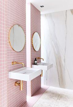 Mejores 1797 Imagenes De Cuartos De Banos En Pinterest En 2018 - Azulejos-rosas