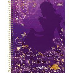 Caderno Universitário Cinderela 10 Matérias - Tilibra - costaatacado