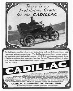 Ads Cadillac 1904